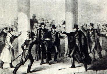 Andrew Jackson AEBetako presidentearen hilketa saiakera (1835)