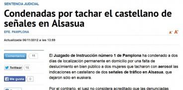 Diario Navarra ezabaketak