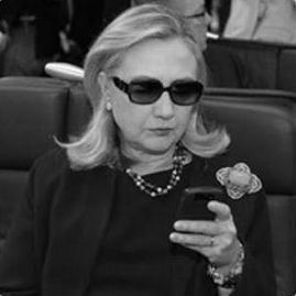 Hilary Clinton eta twitter