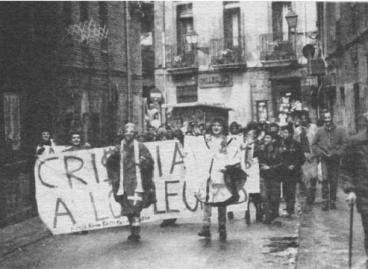 """""""Kristauak lehoietara"""" edo Kaldereriako gatazka (Iruñea 1986)"""
