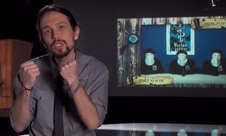 """Entzun Pablo Iglesias-en hitzak: """"terrorismoa gaitzestea da baldintza"""""""