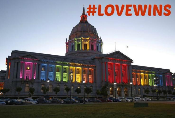 #LoveWins: Sareen omenaldia amodioari eta sexu bereko ezkontzei