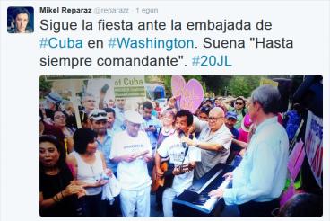 Eta bien bitartean, Habanan...