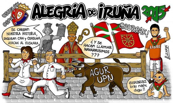 UPN aztoratu duten Iruñeko peñen pankartak! (argazki bilduma)