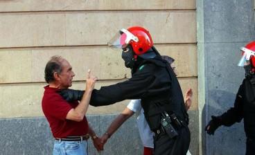 Ertzantza, indarkeria polizialaren adibide