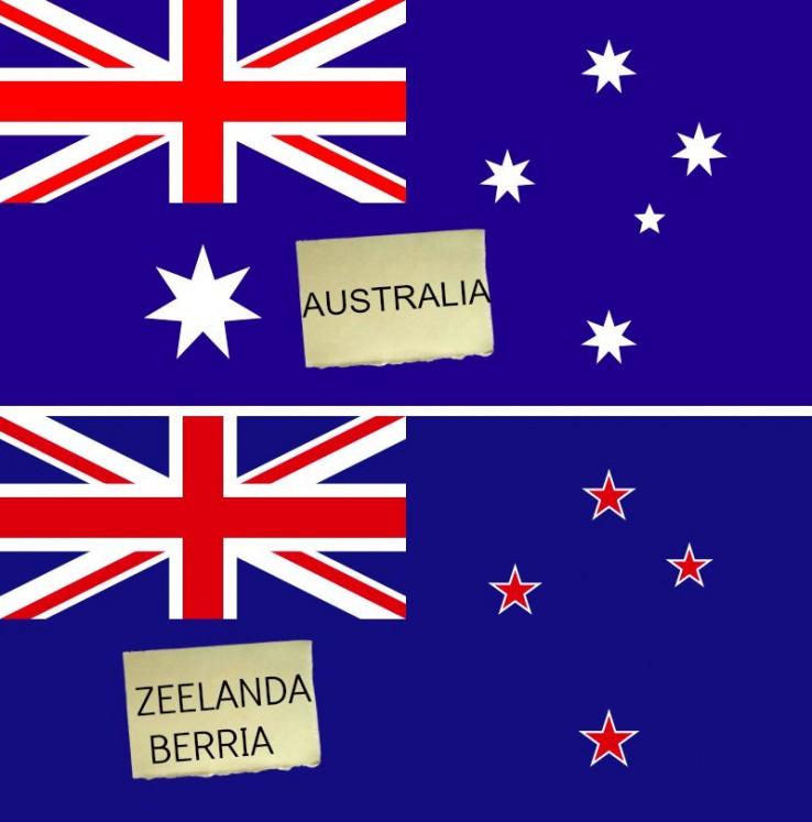 Zeelanda Berriak bandera zaharra erretiratu nahi du