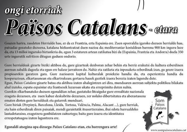 Katalan Herrien ongi etorria