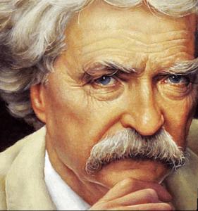 """Mark Twainek botika saltzaileari: """"Edan zeuk pozoi horretatik"""""""