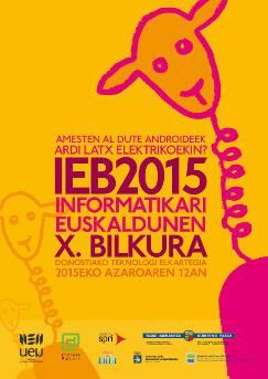 Amesten al dute androideek ardi latx elektrikoekin? #IEB15