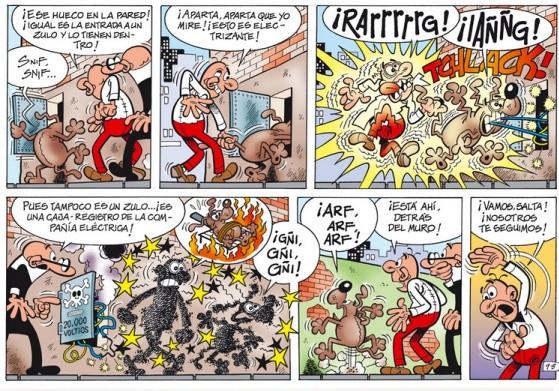 Hamaika bat aldiz Mortadelo eta Filemon