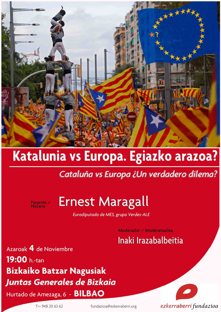 Katalunia vs Europa > Ernest Maragall