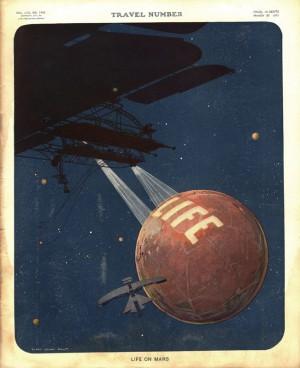 Life-on-Mars - George RR Martin eta Marteri buruzko zientzia fikzioa