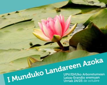 Munduko Landareen Azoka urriaren 24-25 Arboretumean