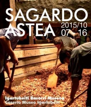 Sagardo Astea, urriaren 7tik 16ra bitartean, Igartubeiti Baserri Museoan