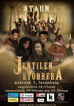 Jentilen etorrera > Azaroaren 7an Ataunen