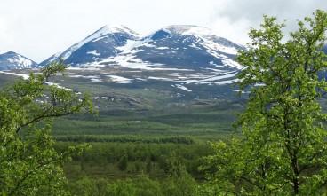 Laponiako mendietan barrena
