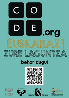 Code.org euskaratzeko maratoia