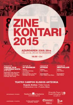 Zine Kontari 2015, euskal zinema Bilbon