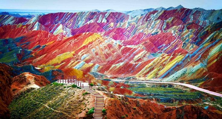 Rainbow Mountains (Txina)