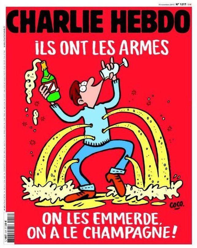 Zer irizten diozu Charlie Hebdoren azken azalari?