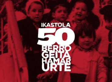 Nafarroako ikastolek 50 urte