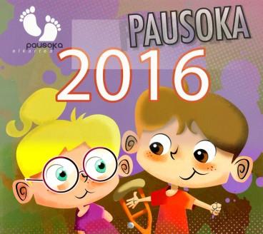 Pausoka Elkartearen 2016 EGUTEGI solidarioa
