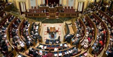 Hego Euskal Herriko 23 diputatuak Madrilen