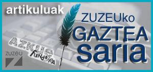 ZUZEUko GAZTEA SARIA: hilean 150€ artikulu onenari hilabetero