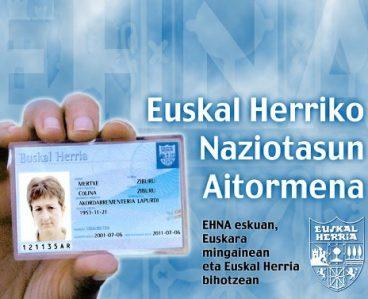 Euskal Naziotasunaren onarpen juridikoa