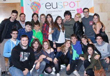 EUSPOT 2016ko sari banaketa ekitaldiaren bideo laburpena