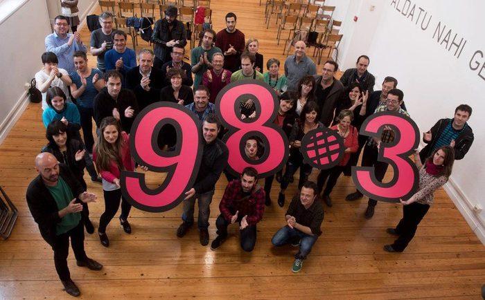 Astelehenetik FM 98.3 dialean emitituko du Euskalerria irratiak