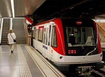 Sexua Bartzelonako metroan