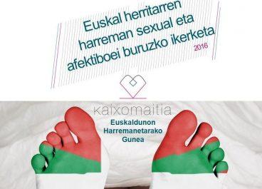 Euskal Herritarren harreman afektibo eta sexualei buruzko ikerketaren emaitzaK