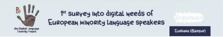 Euskaldunon behar digitalei buruzko lehen inkesta