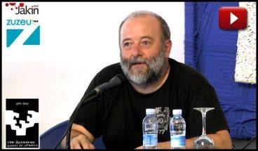 """Imanol Galfarsoro: """"Errealitatearen logika, utopiaren logika"""""""