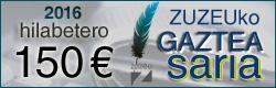 Zuzeuko GAZTEA SARIA goi