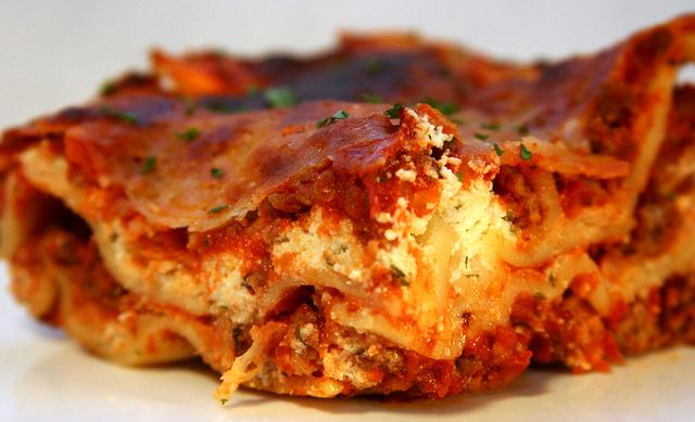 Asteburu honetan: Haragi eta barazki lasagna