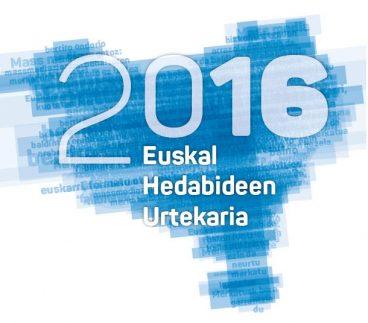 Euskal Hedabideen Urtekaria 2016