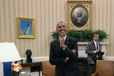 Obama, mutil onaren irudia