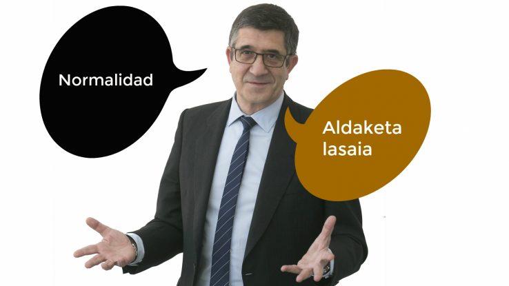 Jadanik ahaztuko zenituen euskal politikako 10 hitz potolo