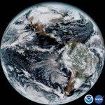 Goes-16 satelitearen begirada