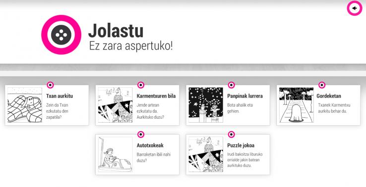 Klisk-klasikoak Bilduma app-a sortu du Galtzagorri Elkarteak