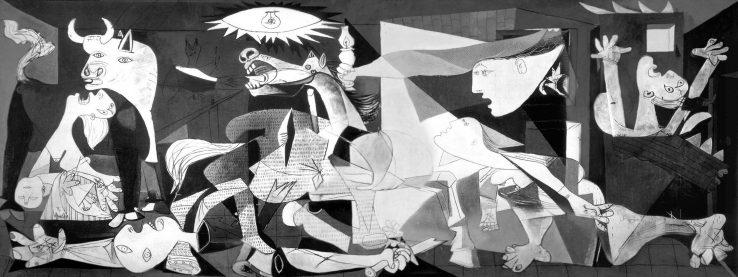 Picassoren Guernica lapurtu dute