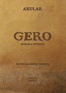 GERO Euskara xumean