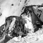 The Stelvio Pass in 1975.