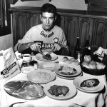 Daily ration of Felice Gimondi.