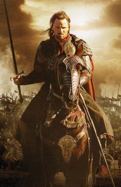 Aragorn, Arathornen semea, erabakitze eskubidearen alde
