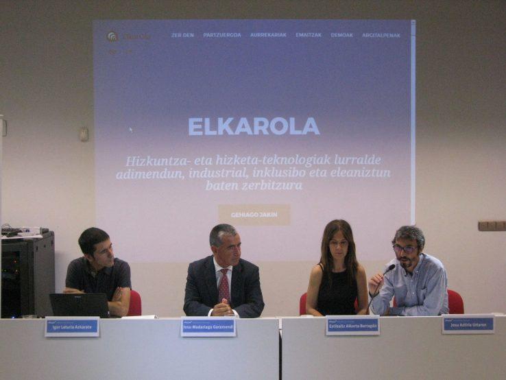 ElkarOla: hizkuntza- eta hizketa-teknologien alorreko ikerketa estrategikoa
