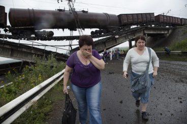 Ukrainaren dilema: egurra edo lilura