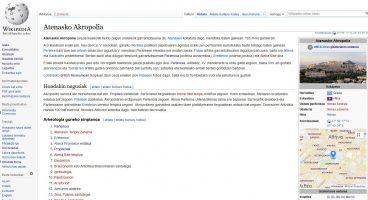 Euskarazko Wikipedia eta OpenStreetMap
